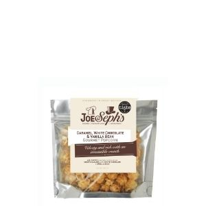 Joe & Sephs White Chocolate & Vanilla Bean Gourmet Popcorn Pouch