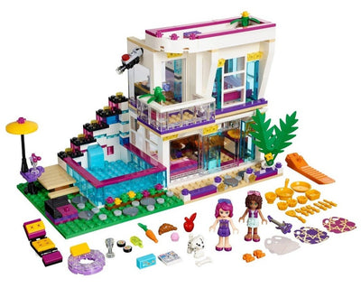 Building Blocks - Livi's Pop Star House