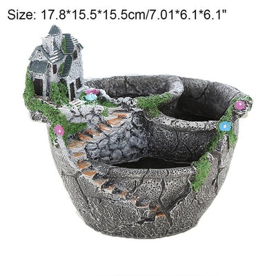 Succulent Plants Pot Garden Decoration
