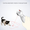 Cat Interactive Toy LED Laser Auto Rotating