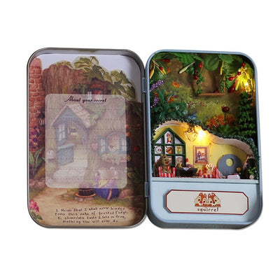Box Theatre DIY Model Miniatures Dollhouse