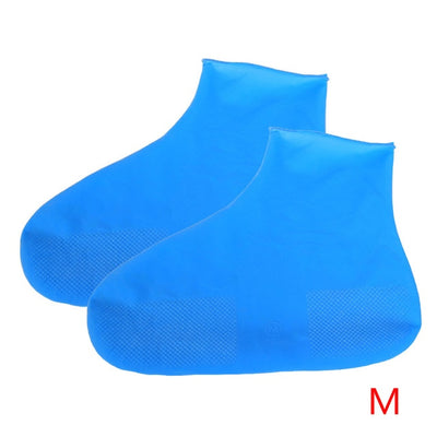 1 Pair Silicone Waterproof Rain Shoe Covers