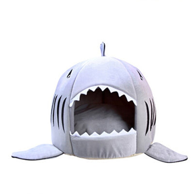 Pet House Shark High-Quality Warm Cotton