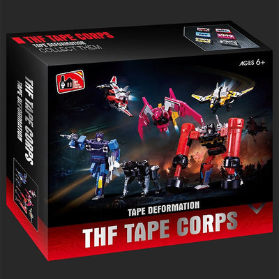Six Tape Set Deformation Transformation - Action Figure
