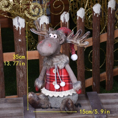 Christmas Reindeer Dolls
