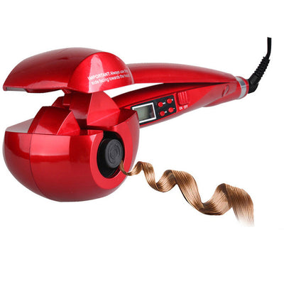 Automatic LCD Anti-Scalding Curling Iron Hair Heating Curler Wand Styling Tools