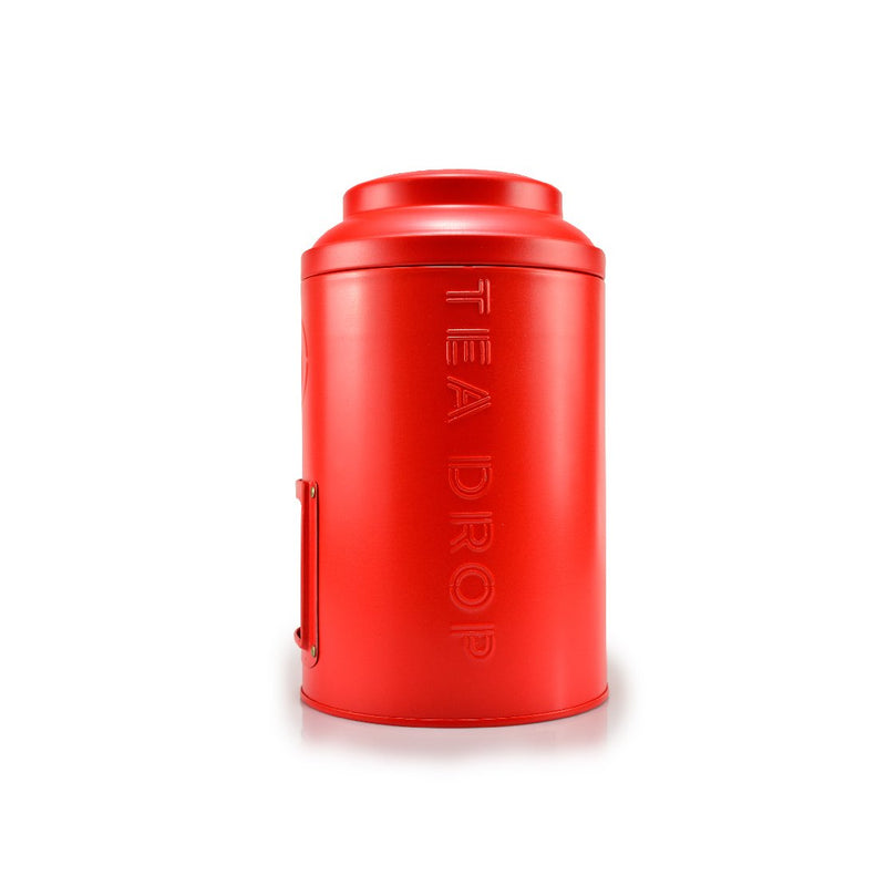 Storage Tin Ruby Red