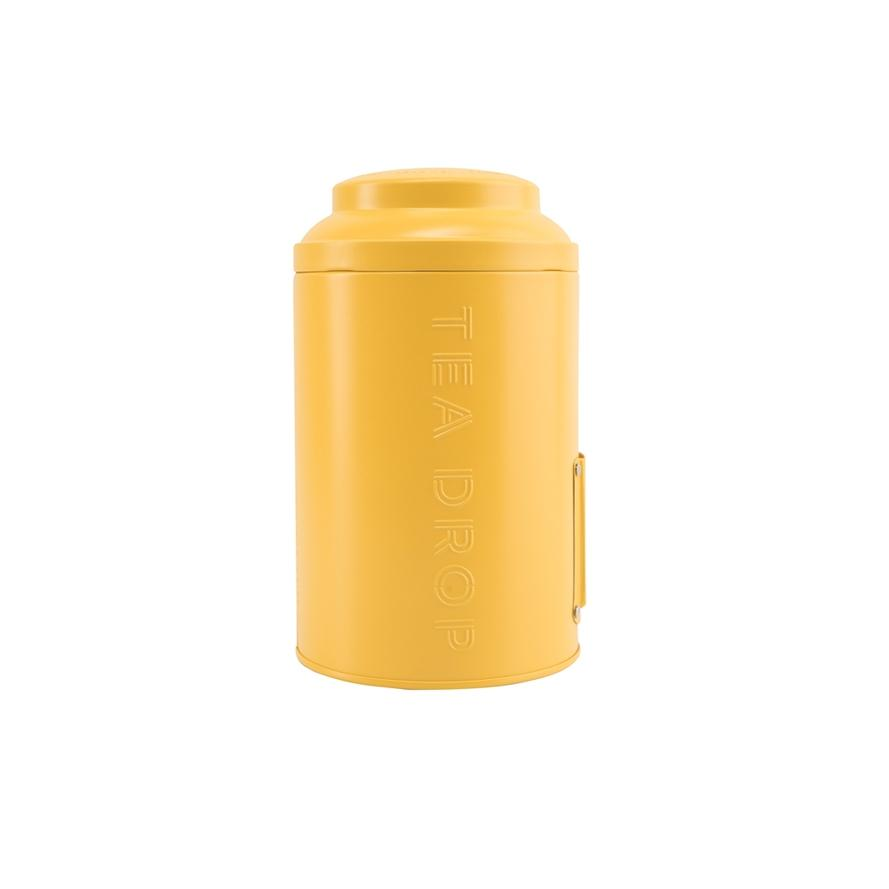 Storage Tin Radiant Yellow
