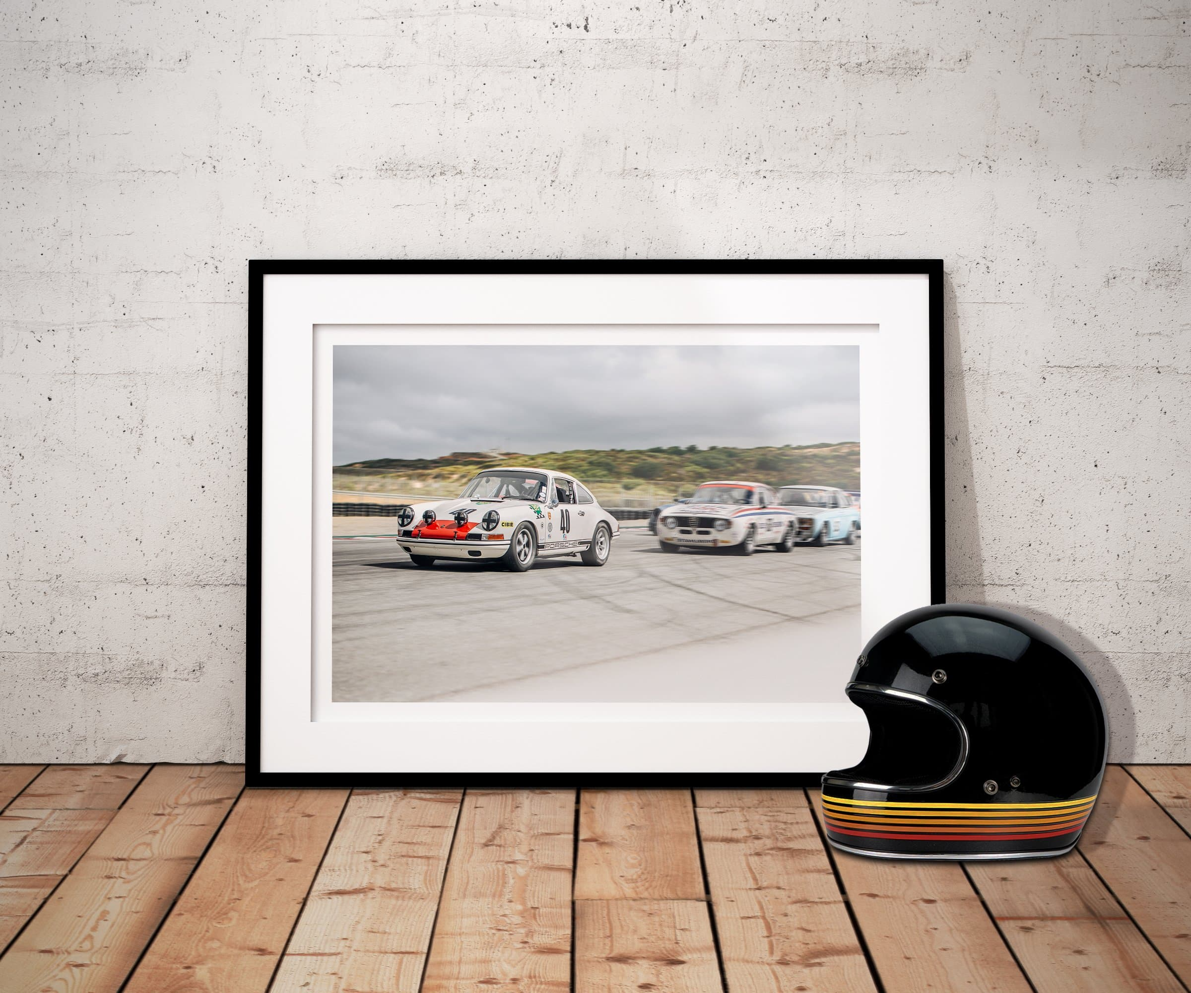 classic porsche 911, racing,  car prints, motorsports, framed prints
