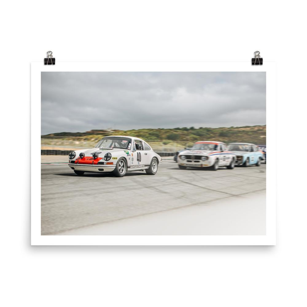 classic porsche 911, racing, car prints, motorsports