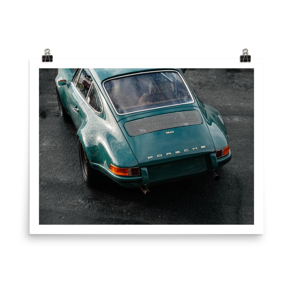 vintage porsche 911, huseyin erturk, car prints, automotive photography