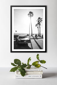 California Black & White Print