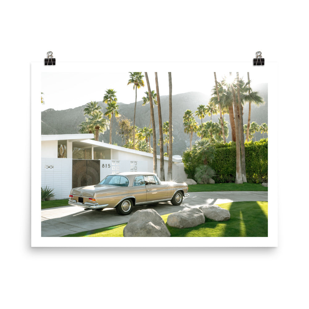 Mercedes Benz 280 SE in Palm Springs