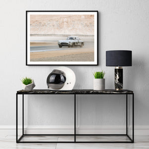 car posters, mercedes sl300 print, gullwing