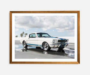 ford mustang, shelby, gt350, print, wall art