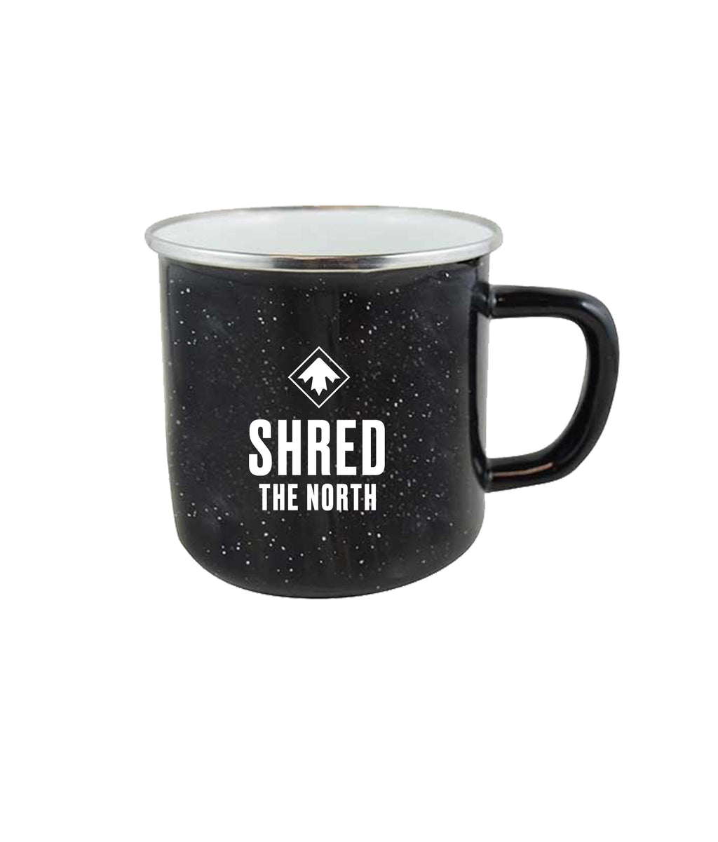 SHRED THE NORTH MUG