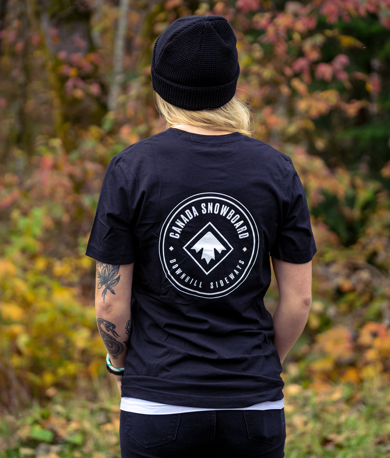 DOWNHILL SIDEWAYS TEE