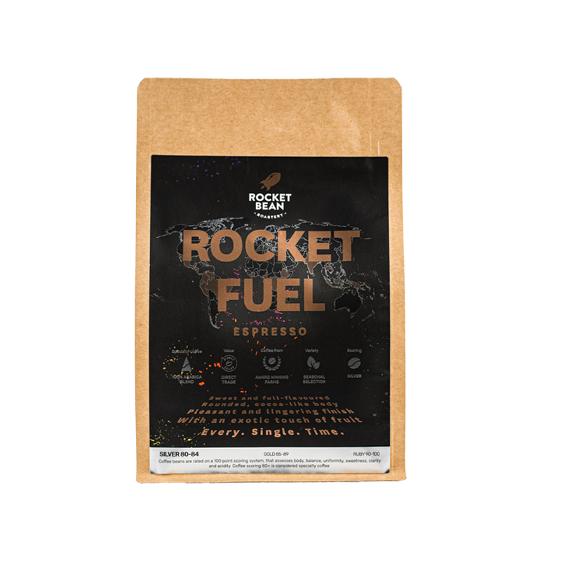 ROCKET FUEL | Specialty Coffee House Blend of Rocket Bean Roastery | Espresso  | روكيت فيول | إسبريسو
