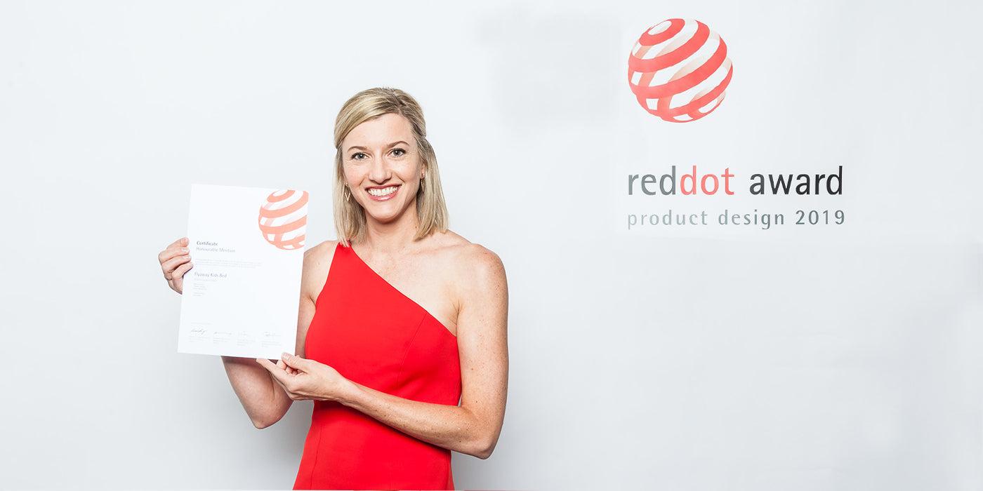 Flyaway Kids Bed wins Red Dot Product Design Award