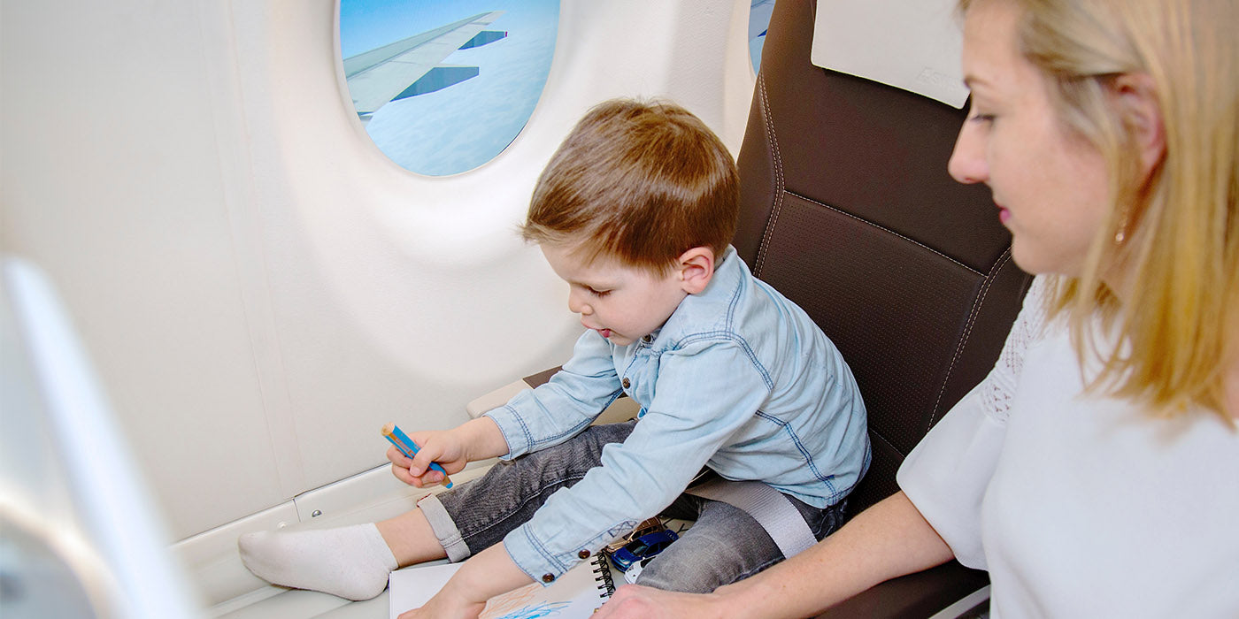 Flying with a child during COVID tips