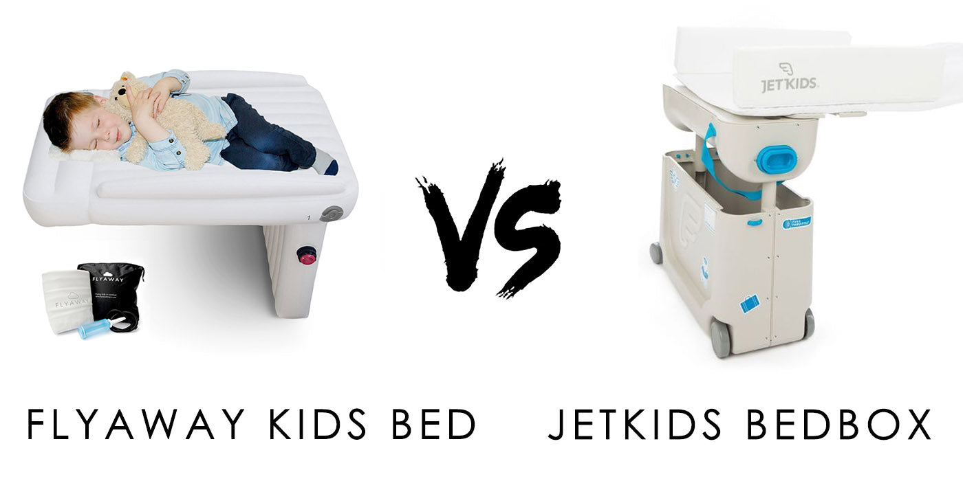 Jetkids Bedbox Alternative. Flyaway Kids Bed compared to Jet Kids Bed Box