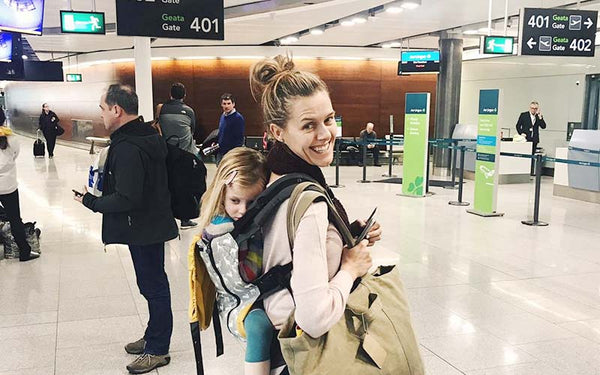 Tips for transfers with kids at the airport