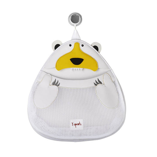3 Sprouts Bath Storage Polar Bear - nini & loli