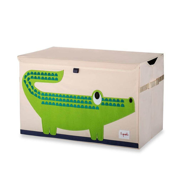 3 Sprouts Toy Chest Crocodile Green - nini & loli