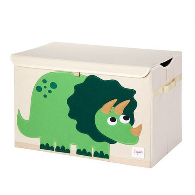 3 Sprouts Toy Chest Dinosaur Green - nini & loli