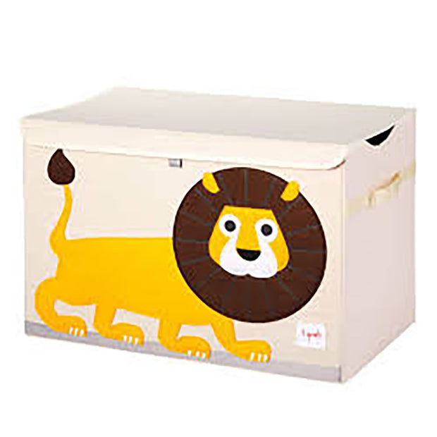 3 Sprouts Toy Chest Lion Yellow - nini & loli