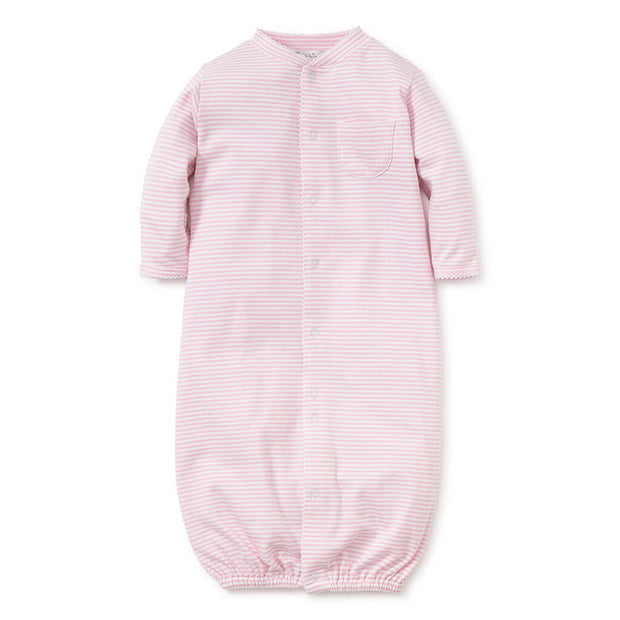 Pink | Kissy Kissy Simple Stripes Convertible Gown - Pink