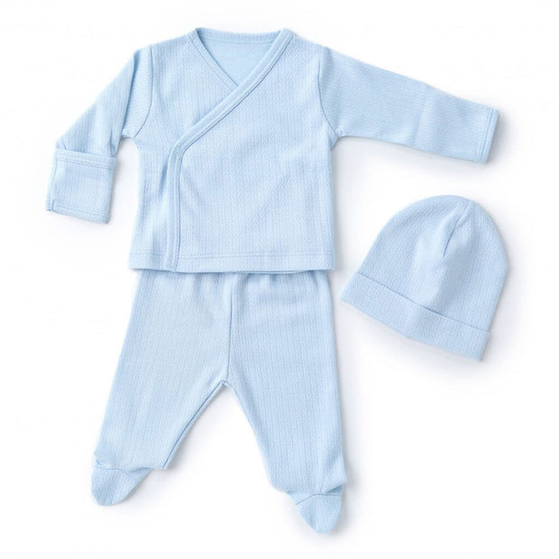 Blue | Kissy Kissy Pointele Take Me Home Set - Blue