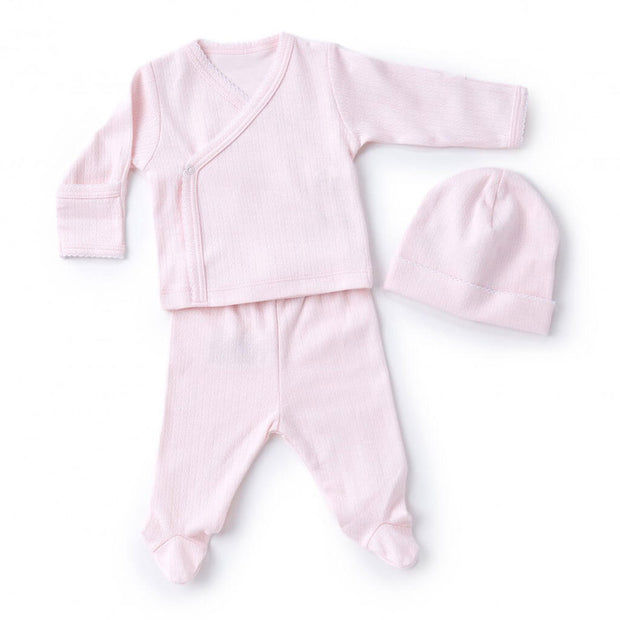 Pink | Kissy Kissy Pointele Take Me Home Set - Pink