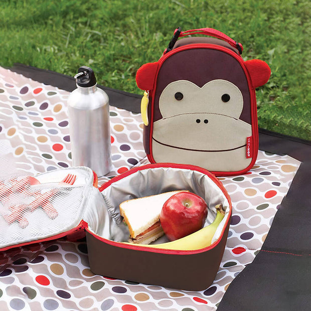 Skip Hop Zoo Lunchie Insulated Lunchbag Monkey