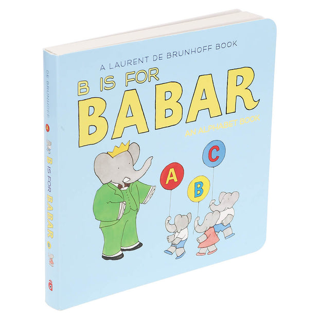 Abramb Appleseed B is For Babar An Alphabet Book - nini & loli