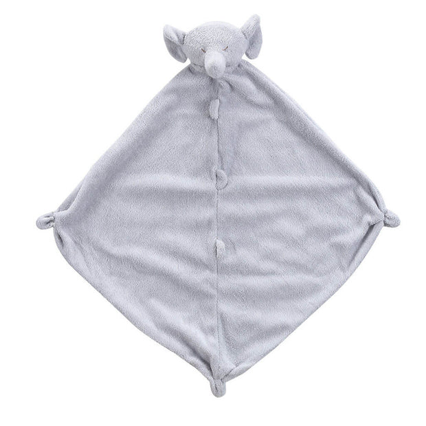 Angel Dear Security Blankie Blanket Grey Elephant - nini & loli