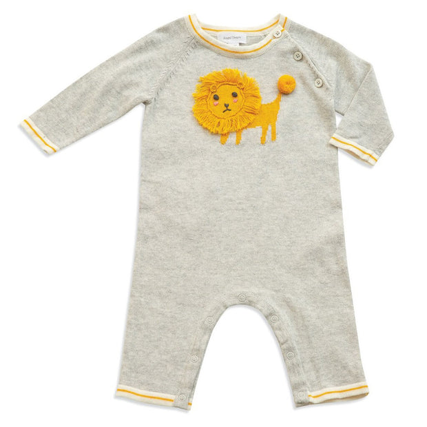 Grey | Angel Dear Knit Coverall  Lion King - Grey - Grey