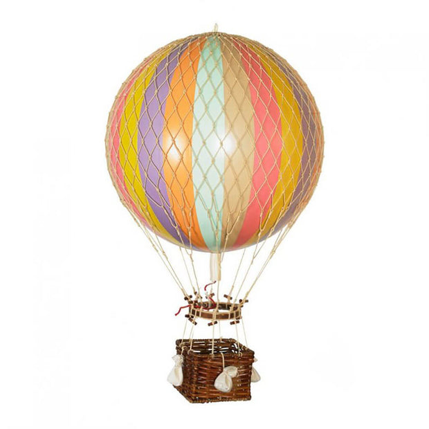 Hot Air Balloon Mobile Large Rainbow Pastel - nini & loli