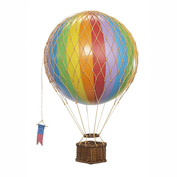 Hot Air Balloon Mobile Medium Rainbow - nini & loli
