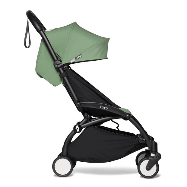 Peppermint | Babyzen Yoyo2 6+ Complete Stroller Black Frame Peppermint | nini and loli