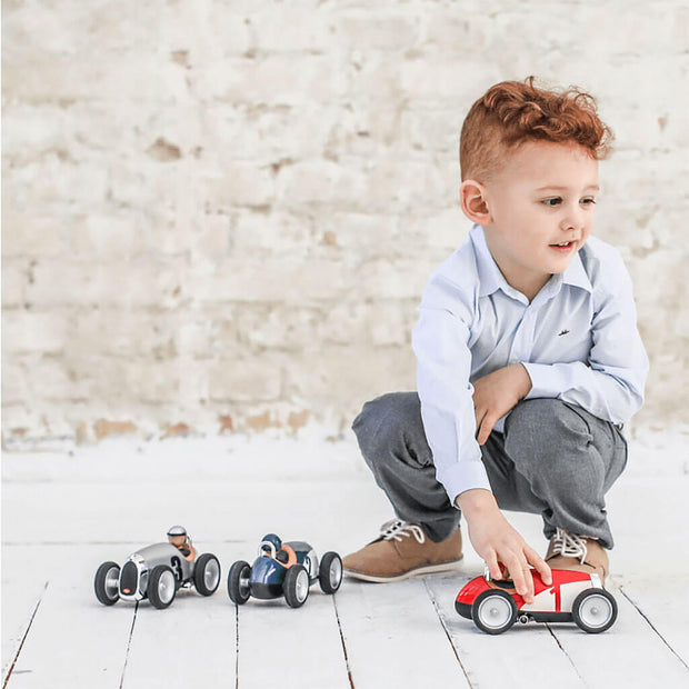 Baghera Racing Toy Car Red - nini & loli