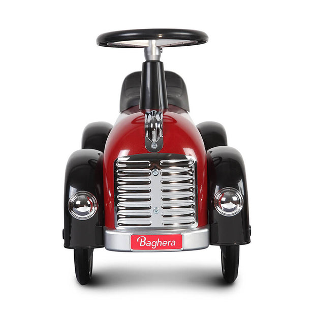 Baghera Ride On Toy Car Speedster Dark Red - nini & loli