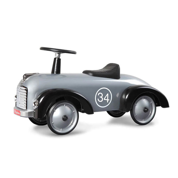 Baghera Ride On Toy Car Speedster Silver - nini & loli