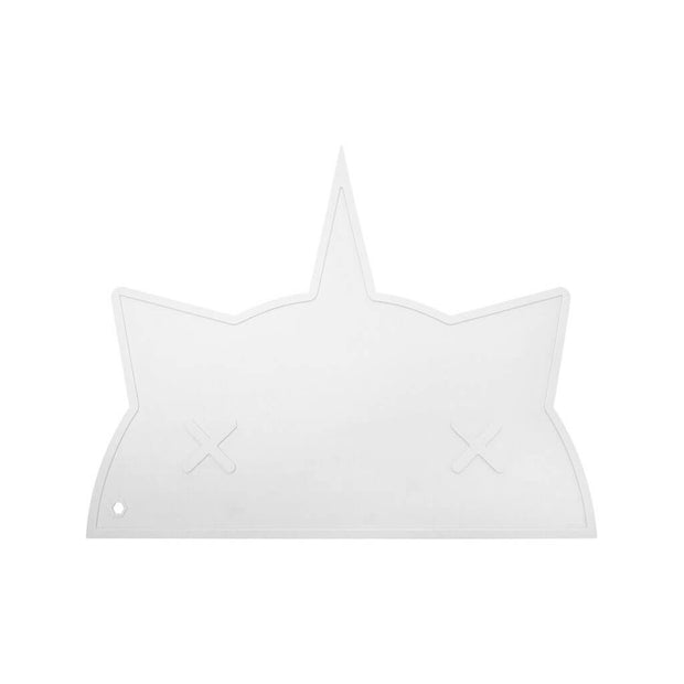 Bam Bam Boom Placemat Unicorn Cat White - nini & loli