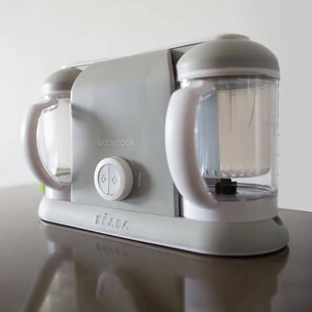 Beaba Babycook Duo Baby Food Blender and Steamer Cloud | NINI and LOLI