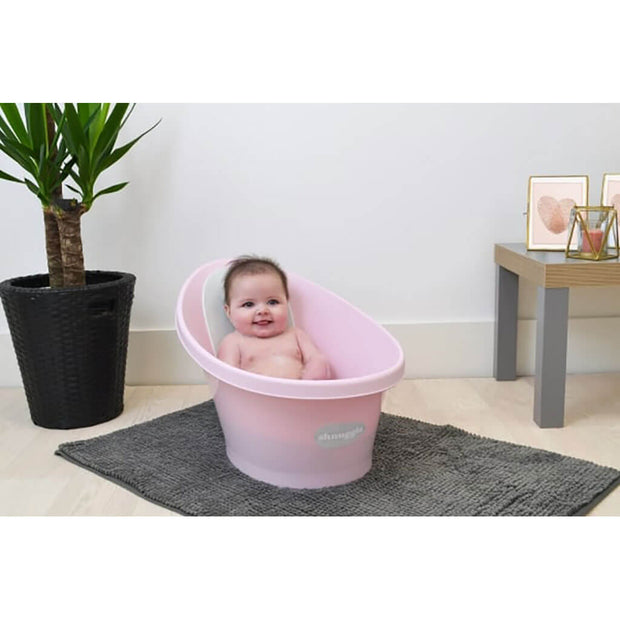 Beaba The Shnuggle Baby Bath Tub Rose - nini & loli