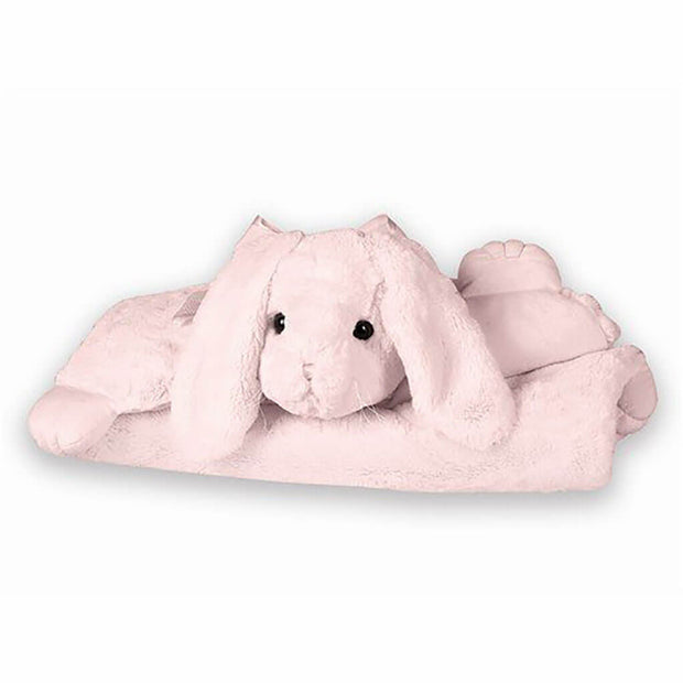 Belly Blanket Bunny Pink