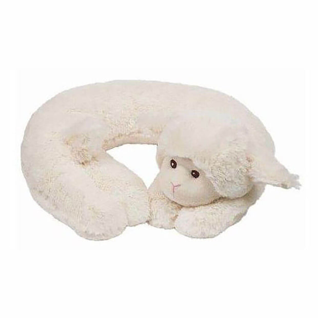 Travel Pillow Lamby Lamb White