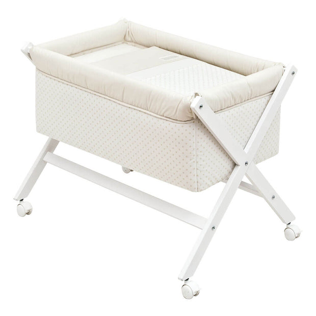 Cambrass Cross Legged Cradle Star Beige - nini & loli