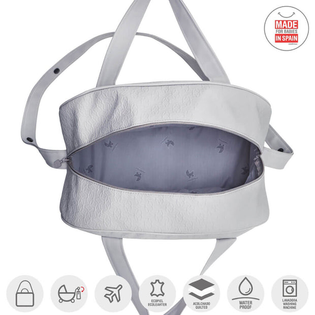 Cambrass Maternity Bag Prome Luxy Grey - nini & loli